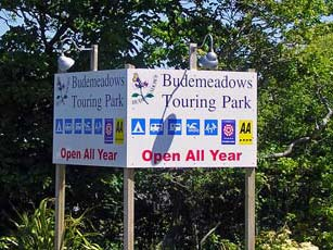 Bude Meadows Touring Park, Bude, North Cornwall